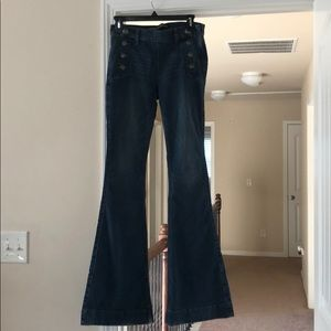 Express mid-rise flare Jean